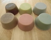 6 Goat Milk Shaving Soaps-All Natural-Hand Made