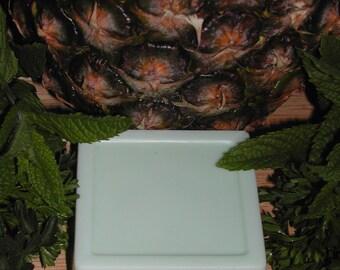 Goat Milk Pineapple Cilantro Soap Hand Made-Super Moisturazing-5.5-6 oz