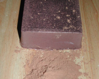 Goat Milk Cocoa Chocolate Soap-All Natural-Hand Made-Buy 5 & Get 1 Free