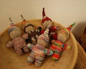 knitted baby gnome