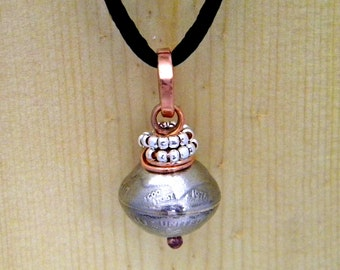 Dime Bead Necklace/Pendant