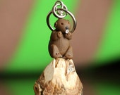 Beaver Stitch Markers (Lodge of 4)