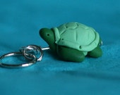 Green Sea Turtle Stitch markers (turn of 4)