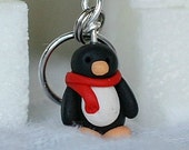 Chilly Penguins Stitch Markers (huddle of 4)