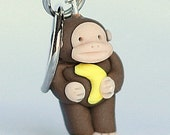 Monkey Stitch Markers (troop of 4)