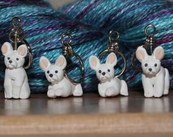 French Bulldog Stitch Markers (set of 4)
