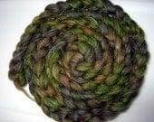 Forbidden Forest- wool blend mill end roving 2oz