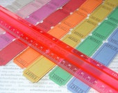 tickets . colorful blank carnival . double value set / 32 dozen / 8 colors