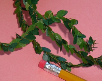 mini baby leaf boxwood garlands / 3 BUNDLES . 45 feet total . 15 yards . LAST of stock