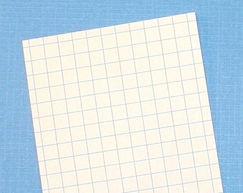 100 graph index cards / 3x5 size