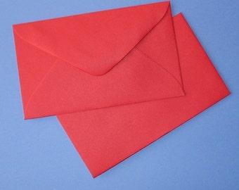 50 red mini envelopes