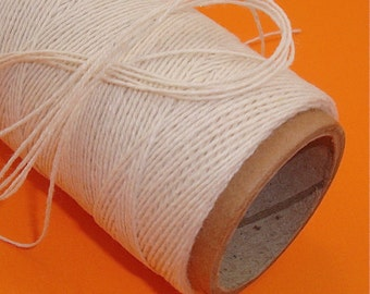 craft string  / cotton poly twine . oatmeal   / 108 yards . last in stock