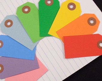 choose your color . 25 shipping tags labels / size 1 small