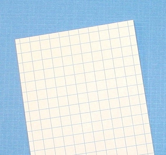 100 graph index cards    3x5 size