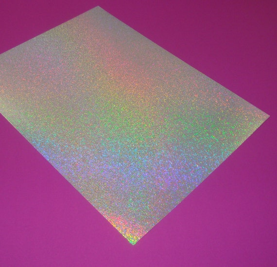 iridescent glitter paper / 20 sheets / inkjet laser printable 8.5 x 11 special sale double set