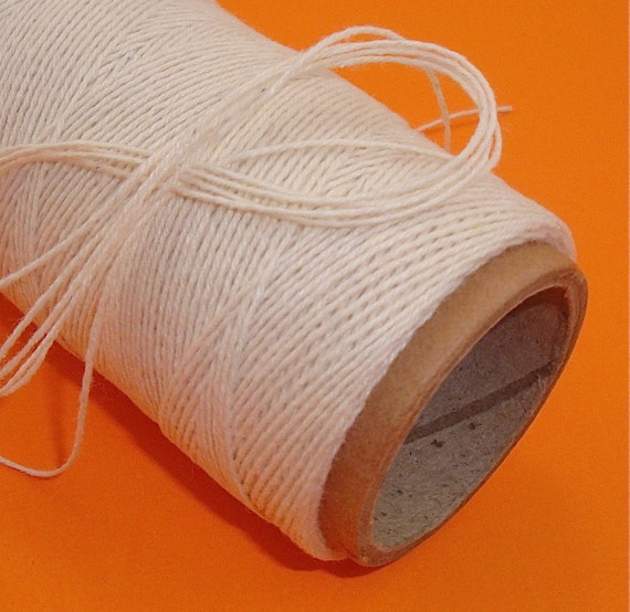 craft string cotton poly twine oatmeal 108 yards