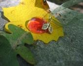 apple harvest necklace