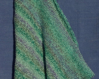 Greens and Blues Blanket