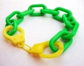 Chunky Chain Handcuff Bracelet