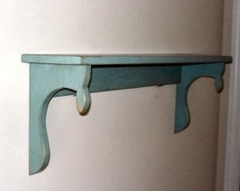 Tear Drop Shelf, 7.25 inches wide 30 inches long