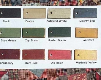 Color Samples Available