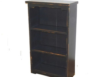 Wide Book Case,  Not Too Big, Just right for the dorm room or bedroom.