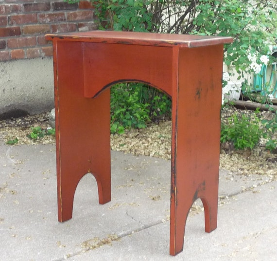 Cottage Style Side Table Great for Family Room, Bedroom or Porch