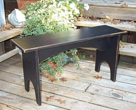 Shaker Style Bench 36 Inches Long