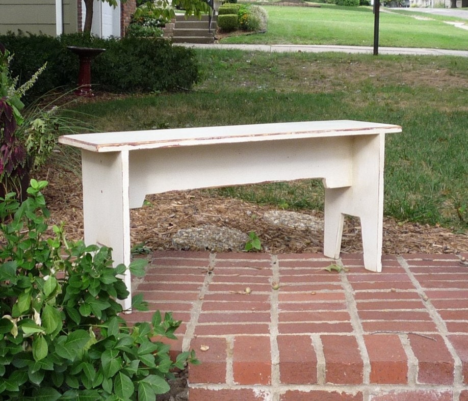 Farmhouse Bench 36 Inches Long