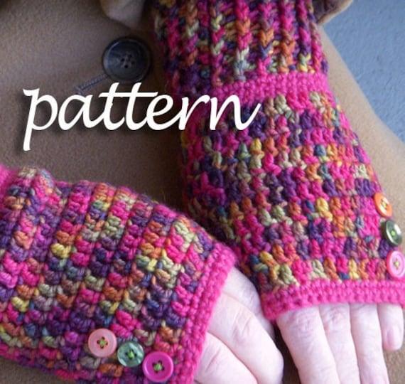 Pattern -- Betty's crocheted handwarmers
