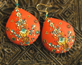 saharan princess earrings
