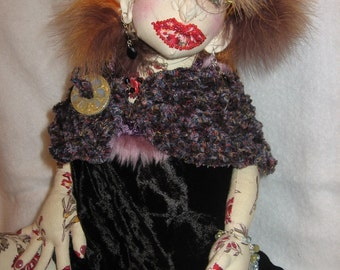 OOAK Art Doll - Made to Order - Let me make a little YOU - with wearable Jewelry