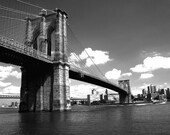 Brooklyn bridge - photo print - poe team