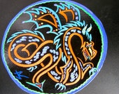 Dragon magnet painting