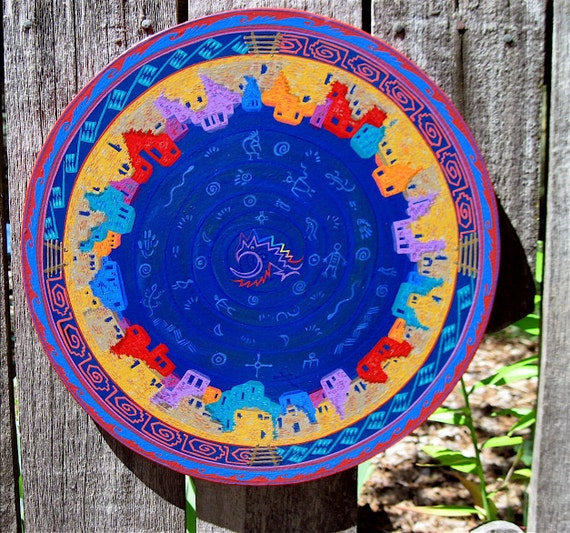 ANASAZI - Star Circle, Wall Art