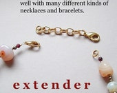 2 1\/2 inch gold basic necklace extender