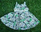 vintage style daisy dress-EtsyKids