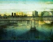 Bridge- Digital Collage Print