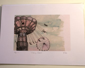 Fairy Floss - Limited Edition Print