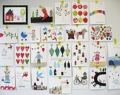 Set of 12  postcards - mix and match