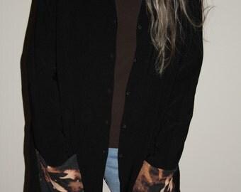 SALE mamothreads sassyfras  rayon sweater - XL