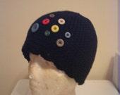 Button Button Black hat