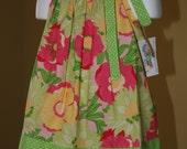 SALE SALE SALE DTB Spring Flowers Pillowcase Dress