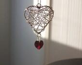 Have a heart - Swarovski heart pendant