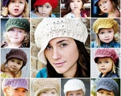 Adult Newsgirl Beanie - You pick color
