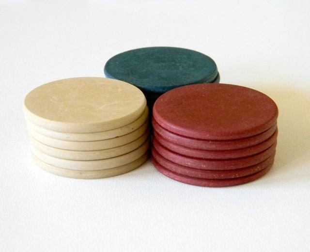 Old Poker Chips
