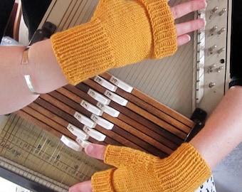Women's Gloves Fingerless Mitts  - custom and handmade for you