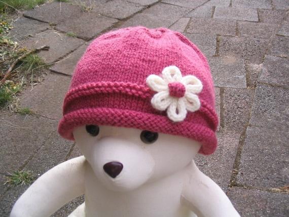 Baby Hat - Knitting Pattern PDF (baby toddler size)