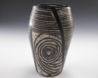naked raku - NR0051150 - naku - art pottery - piece