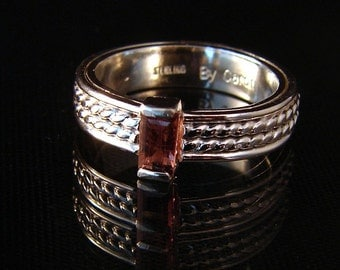 Pixie - Pink Tourmaline Ring